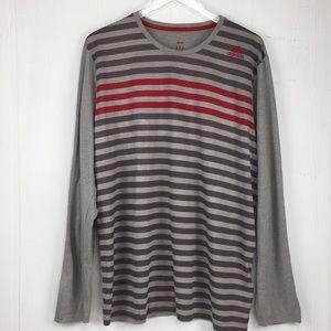 Adidas Climalite Crewneck Long Sleeve Shirt XL